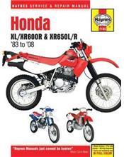 Honda XL/XR600R & XR650L/R 1983 - 2014 Haynes Owners Service & Repair Manual