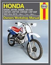 Honda XR50R, XR70R, XR80R, XR100R, & CRF50F, CRF70F, CRF80F, CRF100F 1985 - 2016