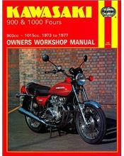 Kawasaki 900 & 1000 Fours 1973 - 1977 Haynes Owners Service & Repair Manual