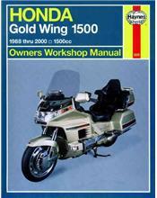 Honda Gold Wing 1500 (USA) 1988 - 2000 Haynes Owners Service & Repair Manual