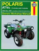 Polaris ATVs 1985 - 1997 Haynes Owners Service & Repair Manual