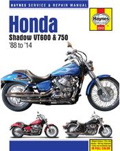 Honda Shadow VT600 & 750 1988 - 2014 Haynes Owners Service & Repair Manual