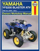 Yamaha YFS200 Blaster ATV 1988 - 2002 Haynes Owners Service & Repair Manual
