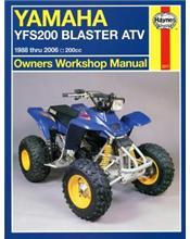Yamaha YFS200 Blaster ATV 1988 - 2002 Haynes Owners Service & Repair Manual