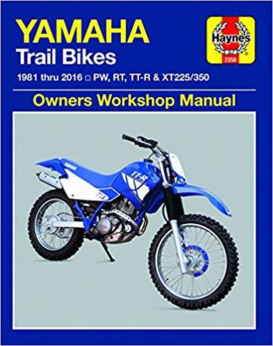 Yamaha Trail Bikes 1981 - 2003 Haynes Owners Service & Repair Manual