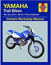 Yamaha Trail Bikes 1981 - 2016 Haynes Owners Service & Repair Manual