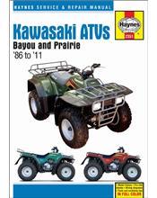 Kawasaki Bayou 220/250/300 & Prairie 300 ATVs 1986 - 2011