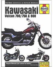 Kawasaki Vulcan 700/750 & 800 1985 - 2006 Haynes Owners Service & Repair Manual