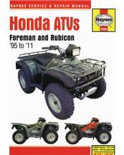 Honda Foreman 400 & 450 & 500 ATVs 1995 - 2011