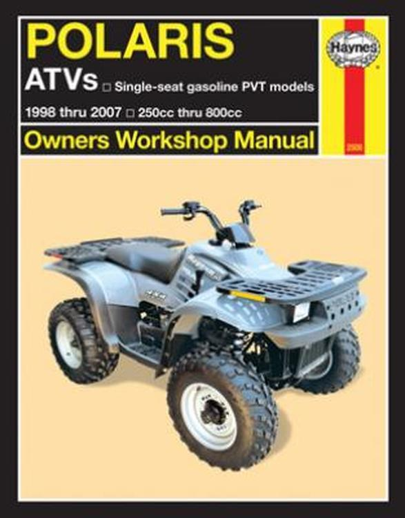Polaris ATVs 1998 - 2006 Haynes Owners Service & Repair Manual - Front Cover