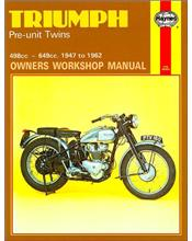 Triumph Pre-Unit Twins 1947 - 1962 Haynes Owners Service & Repair Manual