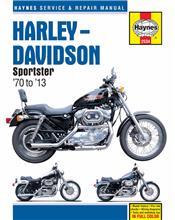Harley Davidson Sportsters 1970 - 2013 Haynes Owners Service & Repair Manual