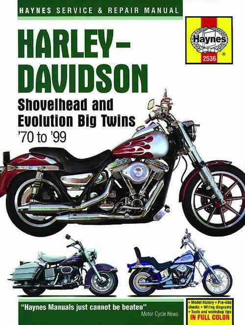 Harley-Davidson Shovelhead & Evolution Big Twins 1970 - 1999