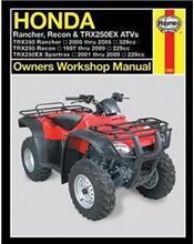 Honda Rancher, Recon & TRX250EX ATVs 1997 - 2005