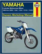 Yamaha YZ80, YZ85, YZ125 & YZ250 1986 - 2006 Haynes Owners Workshop Manual