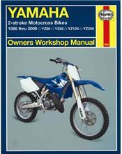 Yamaha YZ80, YZ85, YZ125 & YZ250 1986 - 2006 Haynes Owners Workshop Manual