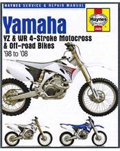 Yamaha YZ & WR 4-stroke Motocross & Off Road Bikes 1998 - 2008