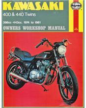 Kawasaki 400 & 440 Twins 1974 - 1981 Haynes Owners Service & Repair Manual