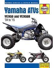 Yamaha YFZ450 & YFZ450R ATV 2004 - 2010 Haynes Owners Service & Repair Manual