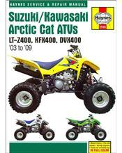 Suzuki LT-Z400, Kawasaki KFX400 & Arctic Cat DVX400 2003 - 2009