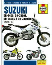 Suzuki DR-Z400, DR-Z400E, DR-Z400S & DR-Z400SM 2000 - 2010