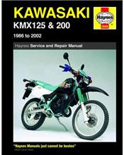 Kawasaki KMX125 & 200 1986 - 2002 Haynes Owners Service & Repair Manual