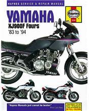 Yamaha XJ900F Fours 1983 - 1994 Haynes Owners Service & Repair Manual
