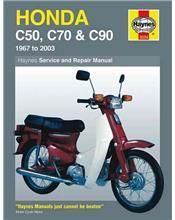 Honda C50, C70 & C90 1967 - 2003 Haynes Owners Service & Repair Manual