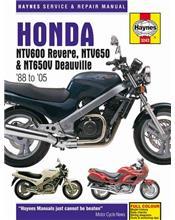 Honda NTV600 Revere NTV650 and NT650V Deauville 1988 - 2005