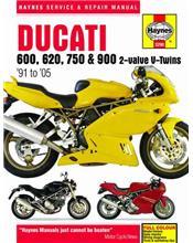 Ducati 600, 620, 750 & 900 2-valve V-Twins 1991 - 2005