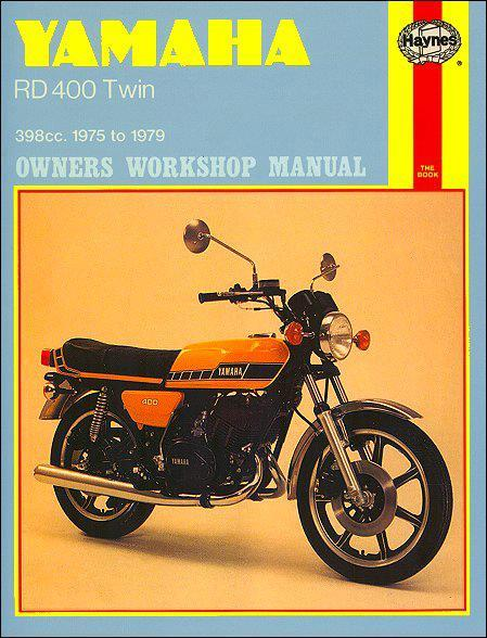 Yamaha RD400 Twin 1975 - 1979 Haynes Owners Service & Repair Manual
