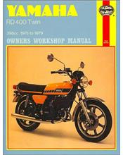 Yamaha RD400 Twin 1975 - 1979 Haynes Owners Service & Repair Manual