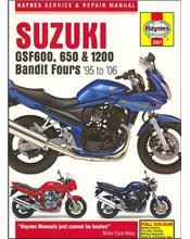 Suzuki GSF600 650 & 1200 Bandit Fours 1995 - 2006