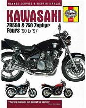 Kawasaki ZR550 & 750 Zephyr 1990 - 1997 Haynes Owners Service & Repair Manual