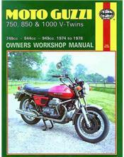 Moto Guzzi 750-S, 750-S3, 850-T, 850 T3, V1000, LeMans 1974 - 1978