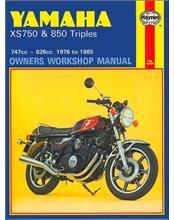 Yamaha XS750 & 850 Triples 1976 - 1985 Haynes Owners Service & Repair Manual