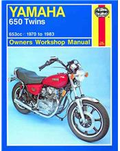 Yamaha 650 Twins 1970 - 1983 Haynes Owners Service & Repair Manual