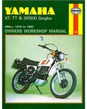 Yamaha XT, TT & SR500 Singles 1975 - 1983 Haynes Owners Service & Repair Manual