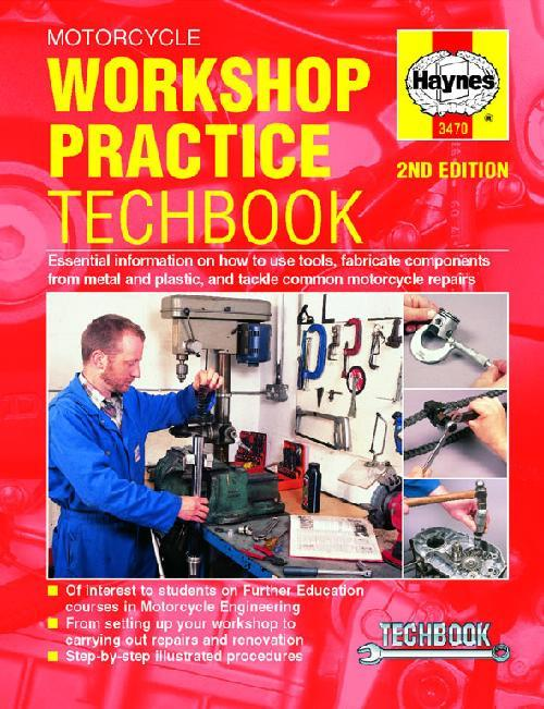 Motorcycle Workshop Practice: Haynes Techbook - Front Cover