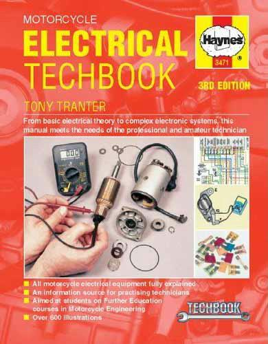 Motorcycle Electrical Manual - Front Cover