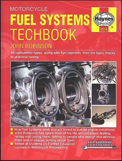 Motorcycle Fuel Systems : Haynes Techbook - Front Cover
