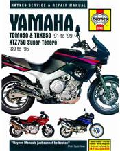 Yamaha TDM850, TRX850 and XTZ750 Super Tenere 1989 - 1999