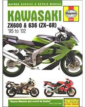 Kawasaki ZX600, 636 (ZX-6R) 1995 - 2002 Haynes Owners Service & Repair Manual