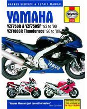 Yamaha YZF750R, YZF750SP & YZF1000R Thunderace 1993 - 2000