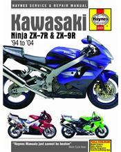 Kawasaki Ninja ZX-7R & ZX-9R 1994 - 2004 Haynes Owners Service & Repair Manual