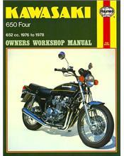 Kawasaki Z650, KZ650 Fours 1976 - 1978 Haynes Owners Service & Repair Manual