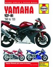 Yamaha YZF-R1 1998 - 2003 Haynes Owners Service & Repair Manual