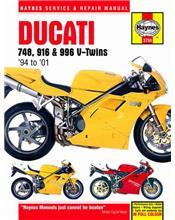 Ducati 748, 916 & 996 V-twins 1994 - 2001 Haynes Owners Service & Repair Manual