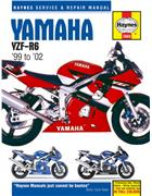 Yamaha YZF - R6 1999 - 2002 Haynes Owners Service & Repair Manual