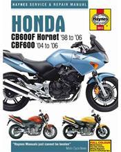 Honda CB600F Hornet & CBF600 1998 - 2006 Haynes Owners Service & Repair Manual